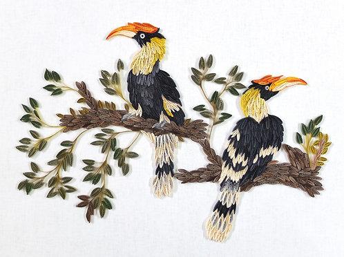 Majestic Hornbills