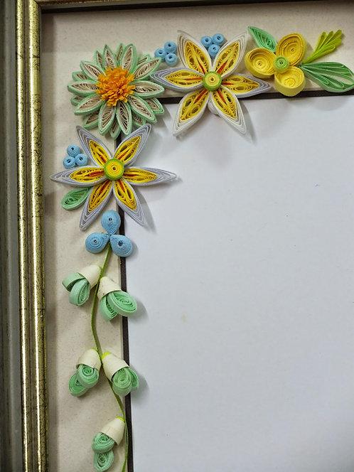 Floral Motif Retro Pastel