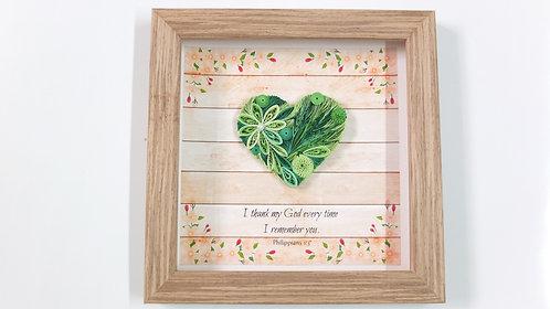 Mini Hearts : Green Nature