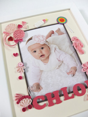 Gift for Baby Girl Quilling Art