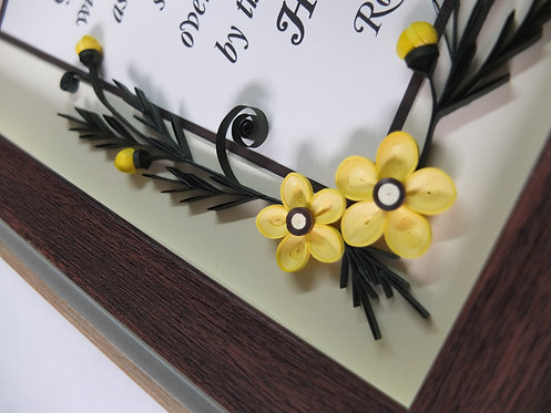 Floral Series 8R - Yellow Pine