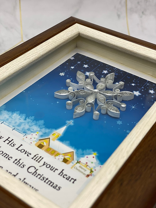 Silver Snowflake - Christmas Series 01