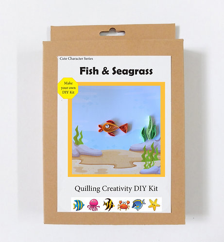 DIY Kit - Fish and Seagrass