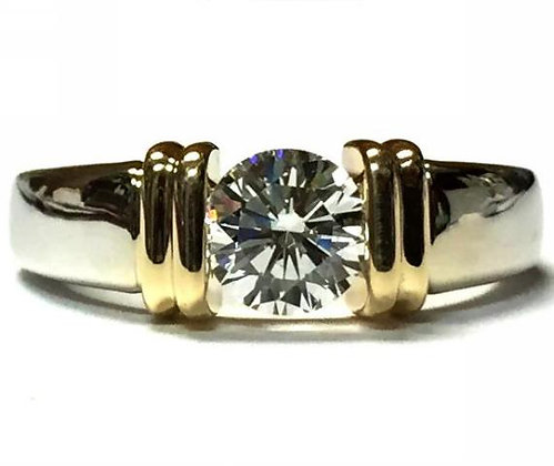 Art Deco Style Ring Mounting