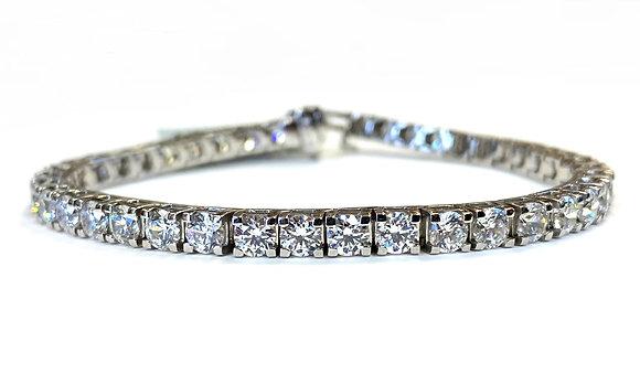 Diamond Tennis Bracelet - 8.00 Carats