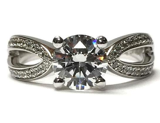 """Nena"" Diamond Engagement Ring Mounting"