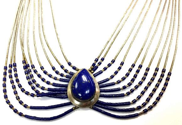 Artisan Lapis Necklace