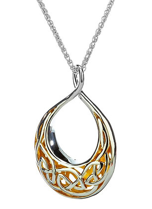"""Window To The Soul"" Teardrop Necklace"