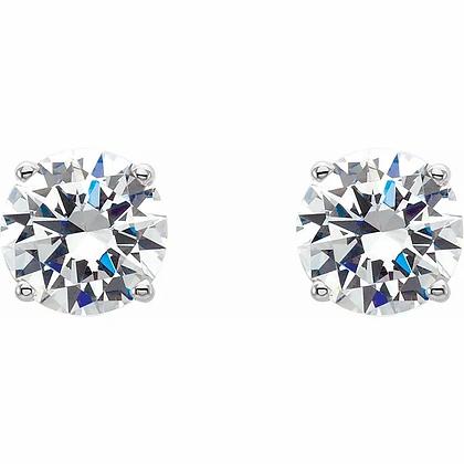 Lab Grown Diamond Stud Earrings - 1.04ct TW