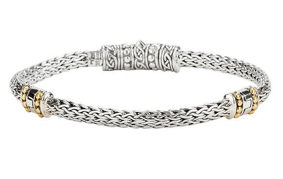 """""""Dragon Weave"""" Eternity Bracelet"""