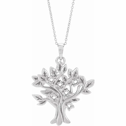 My Tree? Family Tree Pendant - 6 Stone
