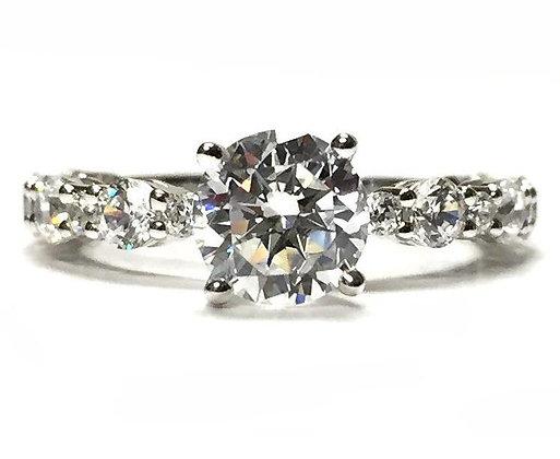 """Leonie"" Diamond Engagement Ring Mounting"