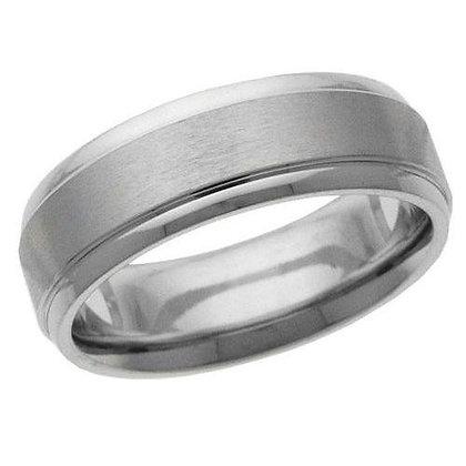 Satin Finish Wedding Ring