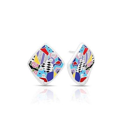 """""""Quilt"""" Earrings"""