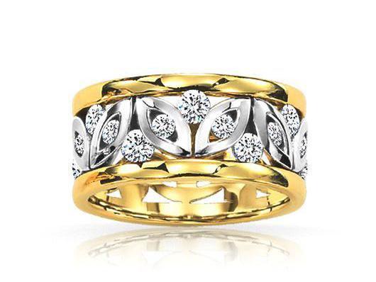 """Lucina"" Naledi Shields Diamond Ring"
