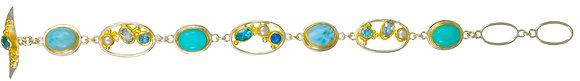 Multi-Link Oval Bracelet