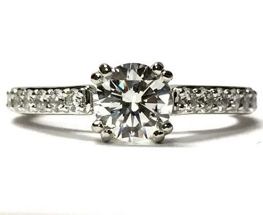"""Gabriella"" Diamond Engagement Ring Mounting"
