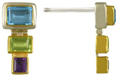 Geometric Squares Earrings