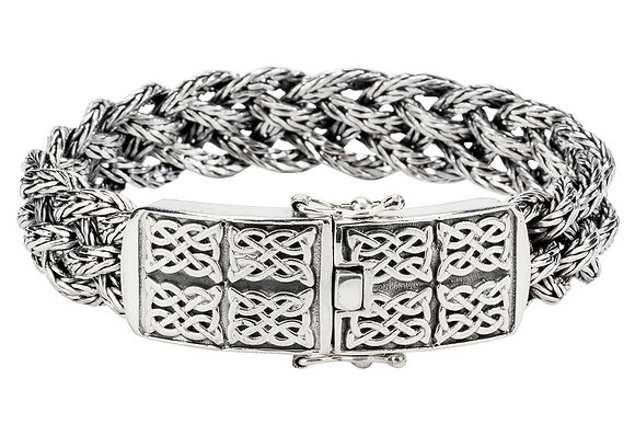 """Dragon Weave"" Chain Bracelet"