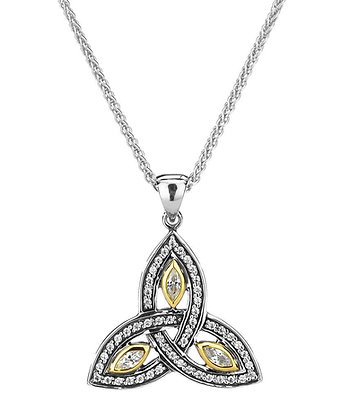 "Small ""Trinity Knot"" Necklace"