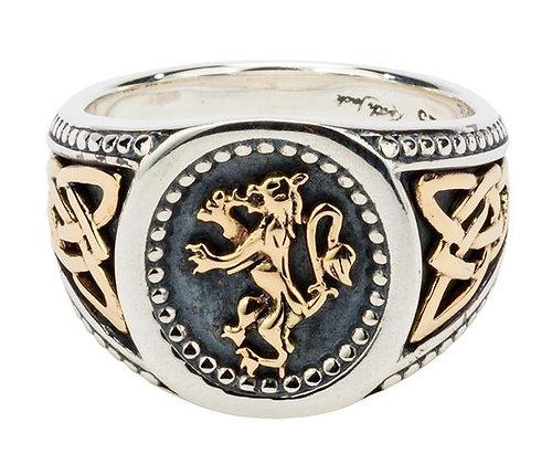 """""""Lion Rampant"""" Ring"""