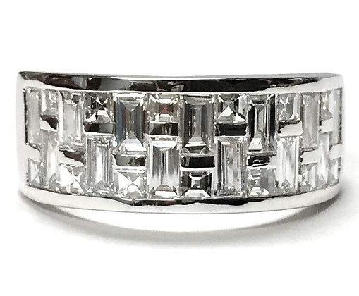 """Citiscape"" Diamond Ring"