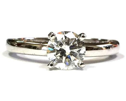 Diamond Profile Engagement Ring Mounting