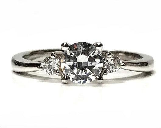"""""""Beulah"""" Diamond Engagement Ring Mounting"""