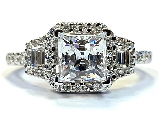 Antique Revival Diamond Ring Mounting
