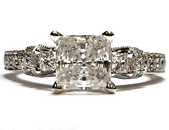 """Scott Kay """"Tiara"""" Diamond Ring Mounting"""