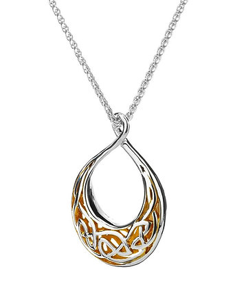 """Window To The Soul"" Teardrop Small Necklace"