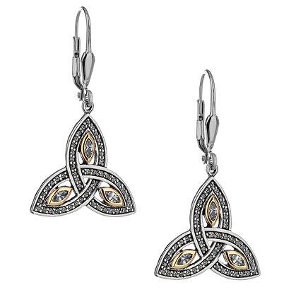 """""""Trinity Knot"""" Earrings"""