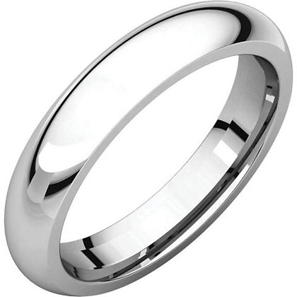4mm Comfort Fit Wedding Ring