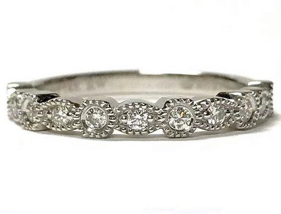 Circles & Ovals Diamond Ring