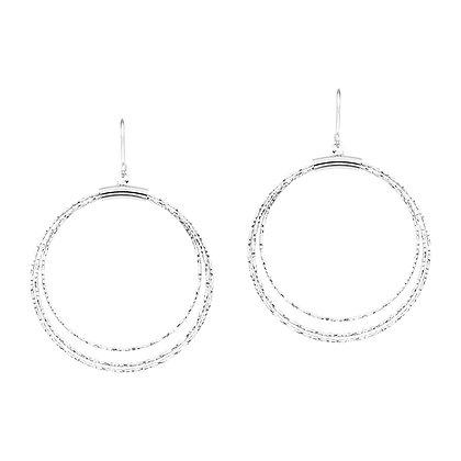 Graduated Circles Earrings