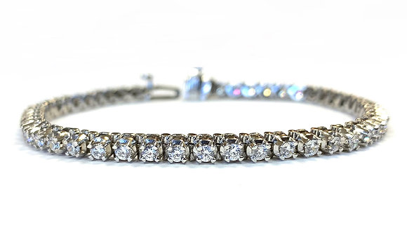 Diamond Tennis Bracelet - 4.00 Carats
