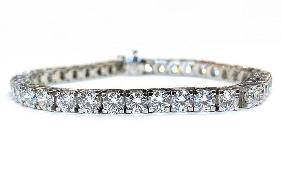 Diamond Tennis Bracelet - 10.00 Carats