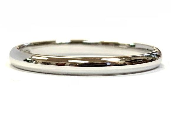 2mm Polished Wedding Ring