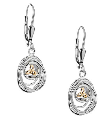 """""""Cradle of Life"""" Dangle Earrings"""