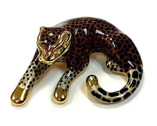 Vintage Leopard Pendant