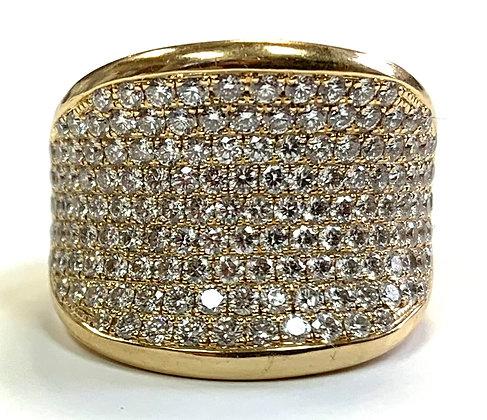 Hinged Shank Diamond Ring