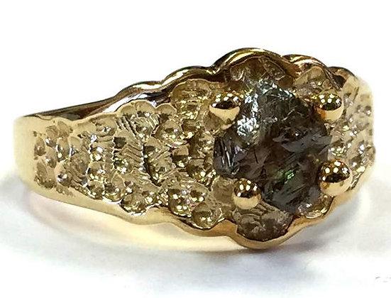 Rough Diamond Ring; European