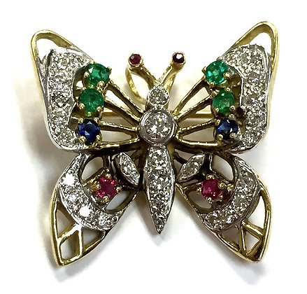 Butterfly Pin/Pendant