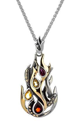 """""""Fire"""" Element Necklace"""
