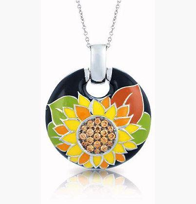 """Sunflower"" Pendant"