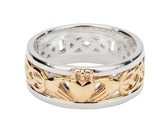 """""""Claddagh"""" Wedding Ring"""
