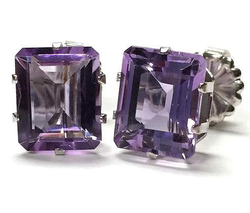 Lilac Amethyst Earrings