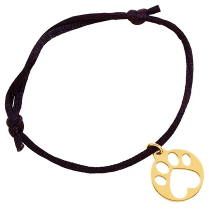 """Our Cause for Paws"" Pawprint Bracelet"
