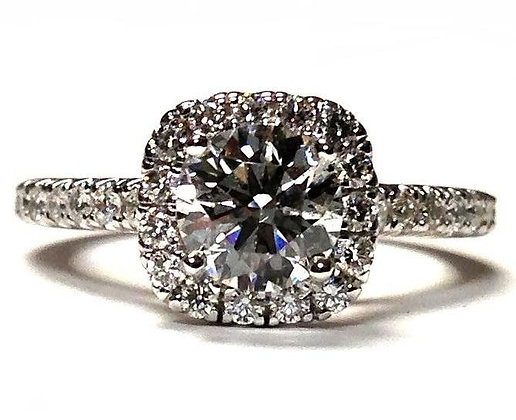 """Pippa"" Diamond Engagement Ring Mounting"