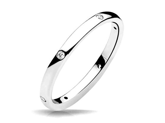 """""""Claire"""" Stackable Diamond Ring"""